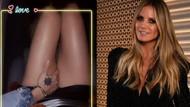 Heidi Klum'dan Aşk çerçevesi