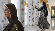 Başkanın kızı Ivanka Trump çıplak ayakla cami gezdi