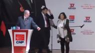 CHP kongresinde olay çıktı! Sahneye şişeler fırlatıldı