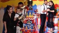 Alişan ve Buse Varol çiftinin oğlu Burak bir yaşına bastı! Partiye ünlüler akın etti