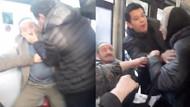 Halk otobüsünde büyük kavga! Küfürler havada uçuştu!