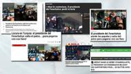 Ali Koç'un tribünden atlaması dünya medyasına manşet oldu