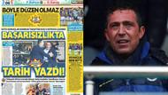 Hükümete yakın gazeteler derbiyi unuttu Ali Koç'u hedefe koydu