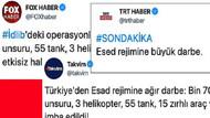 Medya kuruluşları tarafından aynı anda atılan Suriye manşeti kafaları karıştırdı