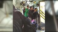 Üstü kirli diye küçük çocuğu otobüsten attı, çocuğu savunan yolcunun gırtlağını sıktı