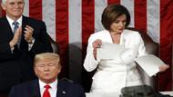 Nancy Pelosi'nin Trump'ın arkasından yaptığı hareket olay yarattı