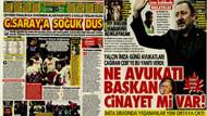 Sergen Yalçın'dan Beşiktaş Başkanı Ahmet Nur Çebi'ye: Ne avukatı başkan cinayet mi var?