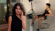 Nesrin Cavadzade siyah yırtmaçlı elbisesiyle dikkat çekti