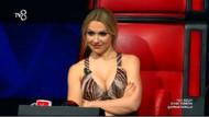 Hadise O Ses Türkiye'de giydiği dekolteli elbiseyle sosyal medyayı salladı