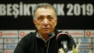 Beşiktaş Kulübü Başkanı Ahmet Nur Çebi'nin dirseği kırıldı