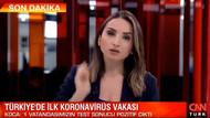 CNN Türk spikeri: Koronalı yurttaş İstanbul'da