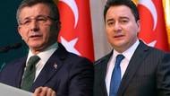Babacan'dan Davutoğlu açıklaması: Aramızda ciddi bir ayrışma var