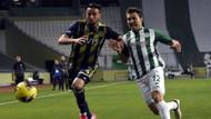 9 kişilik Konyaspor Fenerbahçe'yi yendi