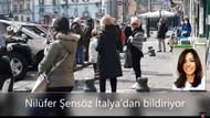 İtalyanlar sokakta ekmek kuyruğunda: Flaş görüntüler