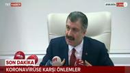 Sağlık Bakanı Fahrettin Koca'dan yeni koronavirüs açıklaması