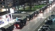 İtalya'da askeri kamyonlar cenazeleri başka şehirlere taşıyor: Yakılacaklar