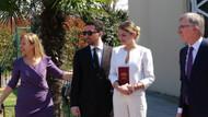 Korona günlerinde nikah: Gelin İtalyan çıkınca nikah bahçede kıyıldı
