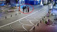 Dezenfektan hırsızları kamerada! Önce ellerine sıkıp sonra çaldılar