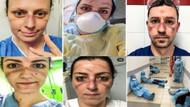 İtalya'da hemşirelerin yüzleri bu hale geldi: Koronadan ölen de var intihar eden de..