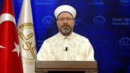 Diyanet İşleri Başkanı Ali Erbaş koronavirüs salgınının sona ermesi için dua edecek