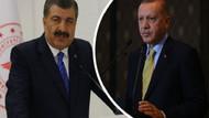 Erdoğan ile Sağlık Bakanı'nın elinde farklı veriler mi var?