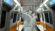 Metrolarda koronavirüs önlemi! 500 kişilik ekip çalışıyor…