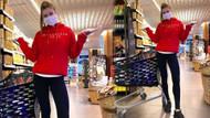 Şeyma Subaşı 17 gün sonra ilk defa markete çıktı