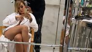 Rita Ora'dan sahne arkasında baştan çıkarıcı selfie
