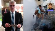 HDP'li vekil Yunan askerinin sıktığı gaz mermisini Meclise getirdi