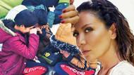 Sibel Tüzün Pazarkule Sınır Kapısı'na yardım götürdü