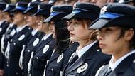 Kadın Polise lacivert bekçiye acı kahverengi başörtüsü