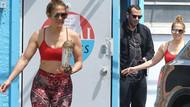 Jennifer Lopez ve Alex Rodriguez koronavirüsü hiçe saydı