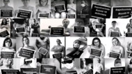 Fransız hemşirelerden salgın politikasına çıplak protesto