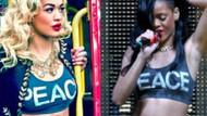 Rita Ora Rihanna'yı mı taklit ediyor?
