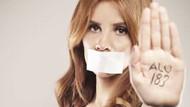 Ünlülerden kadın şiddetine hayır pozu