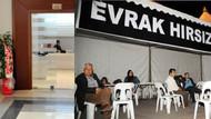 Antalya'da evrak yakma gerginliği