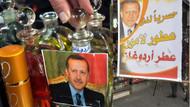 Erdoğan parfümü gelmiştir