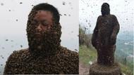 Vücudu 460 bin arıya emanet