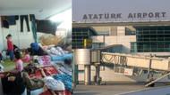 17 gündür Havalimanı'nda perişanlar