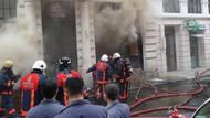 Rixos Pera'da yangın!