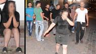Genç kadını dövüp çantasını çaldılar
