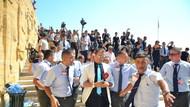 Anıtkabir'de Beyaz TV muhabirine saldırı