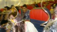 THY uçağında korku dolu anlar