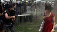 Yeni Şafak: Gezi'deki kırmızılı kadın senaryoydu