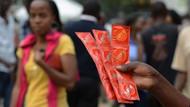 Uganda'da küçük prezervatif sorunu