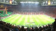 Galatasaray-Fenerbahçe maçında mehter marşı