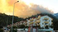 Yangın büyüdü evler tahliye ediliyor!