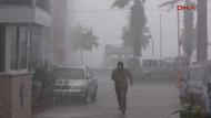 Beklenen yağış Marmaris'i vurdu