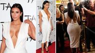 Kim Kardashian'dan doğumgünü dekoltesi