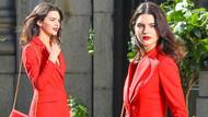 Kendall'a kırmızı çok yakışmış..